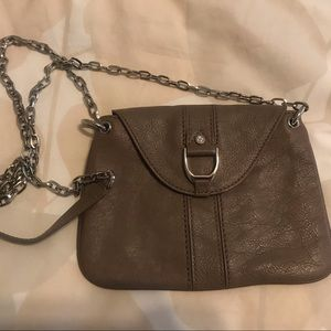 Cole Haan Taupe Crossbody Bag